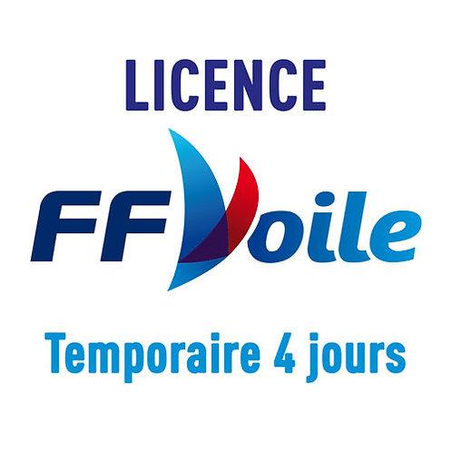 Licence temporaire 4 jours FFV 2020