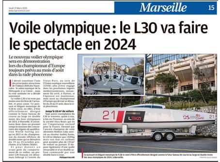 Le L30 dans la Provence du 19 mars 2020