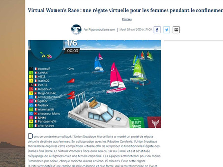 La Virtual Women's Race dans le Figaro Nautisme