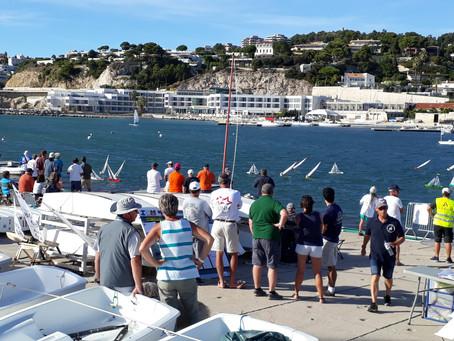 Championnat de France   classe 1 mètre  VRC  3 coureurs UNM dans le Top 10.