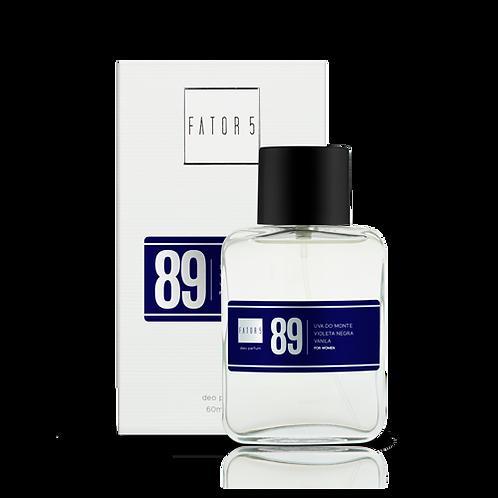 DEO PARFUM 89 - Black XS
