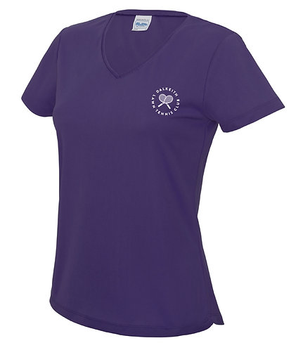 DLTC Ladies Team V-Neck T-shirt