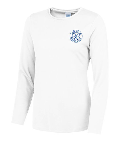 Merchiston Tennis Club Ladies Longsleeve T-shirt