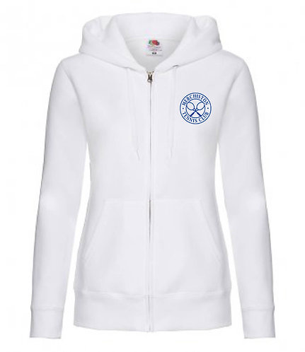 Merchiston Tennis Club Ladies Zipped Hoodie
