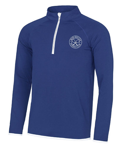 Merchiston Tennis Club Half Zip Sweatshirt