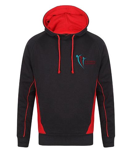Upstarts Gymnastics Contrast Hooded Sweatshirt