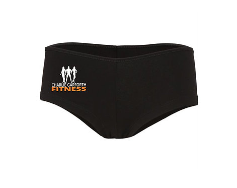 Charlie Garforth Fitness Ladies Hot Pants