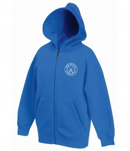 Merchiston Tennis Club Kids Zipped Hoodie