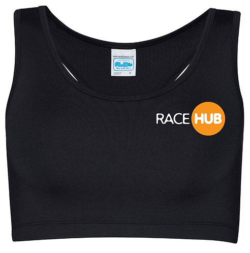 Race Hub Performance Crop Top