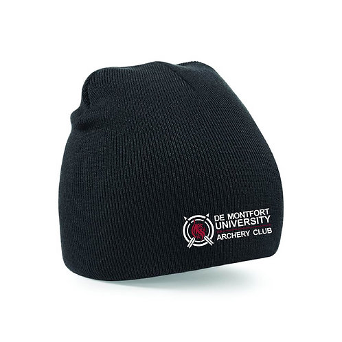 DMU Archery Bobble hat