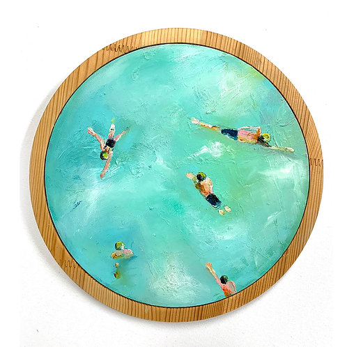 Swimmers in the Round