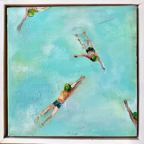 Floating swimmers