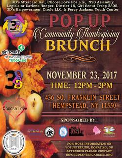 Pop Up Thanksgiving Community Brunch