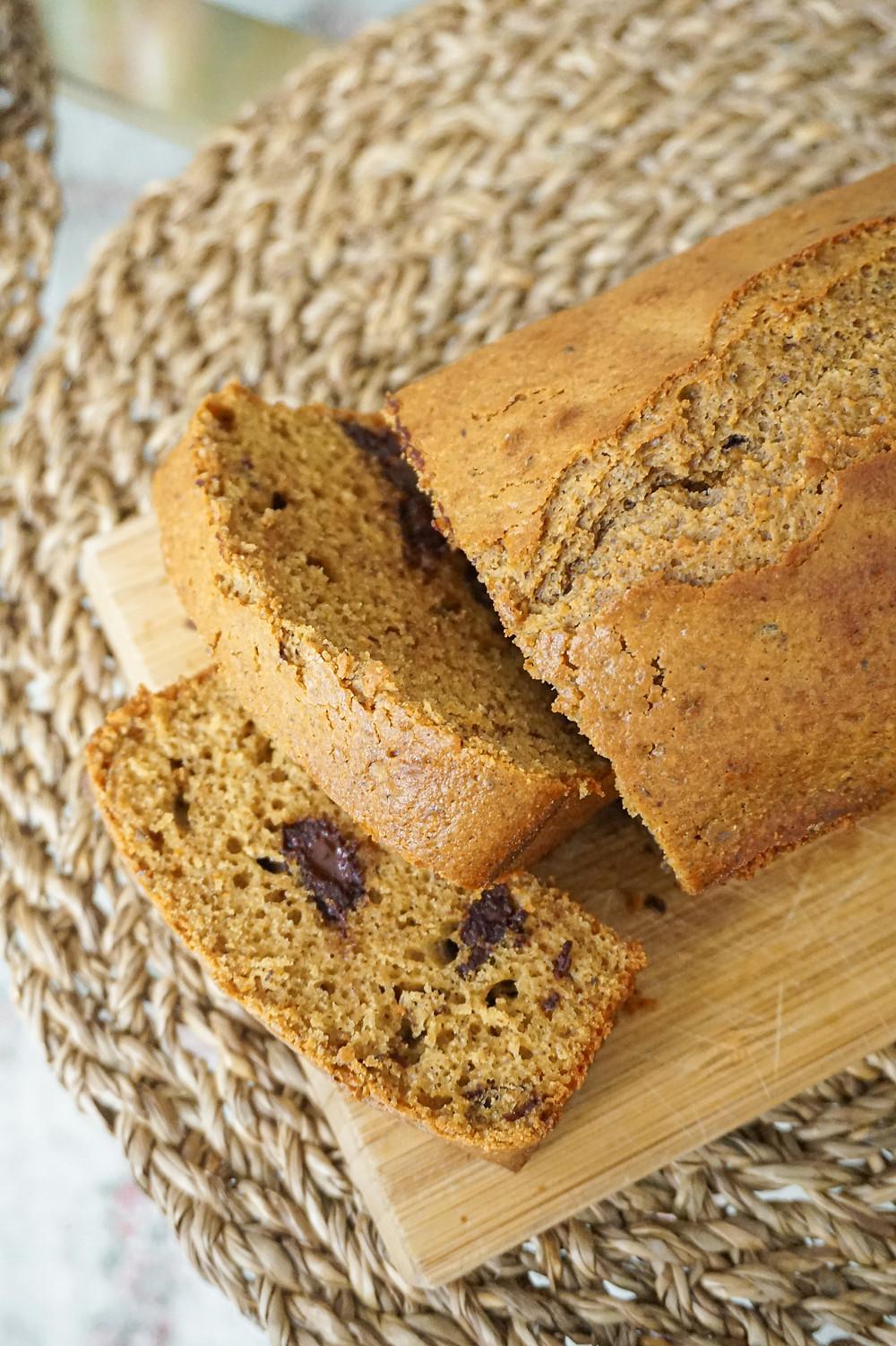 Cake noisette & chocolat healthy sans beurre