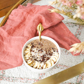 Mon porridge banane & coco