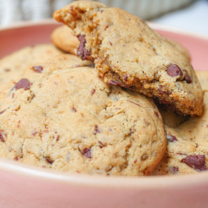 Mes cookies moelleux & fondants au chocolat noir