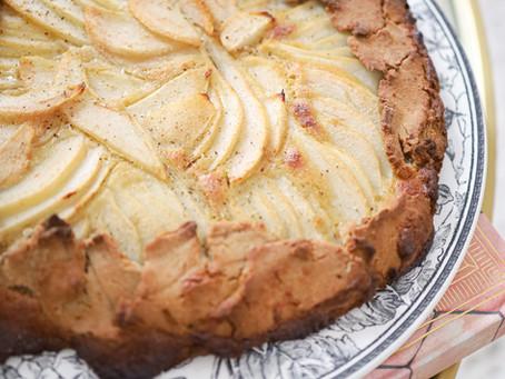 Ma tarte aux poires à la crème de cardamome & vanille