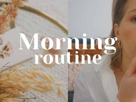 #VLOG : Ma Morning Routine !