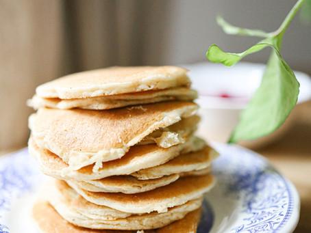 Mes pancakes légers & sans gluten