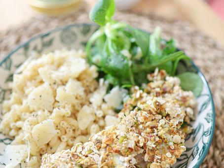 Mon poulet croustillant avoine & pistache