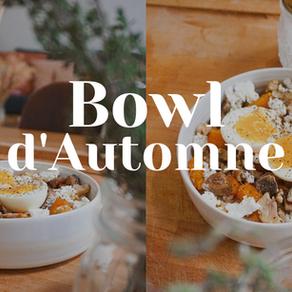 #RECETTE : : Healthy bowl d'Automne - Butternut rôti & châtaignes !
