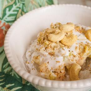 Mes vermicelles de riz aux crevettes, courgette & lait de coco