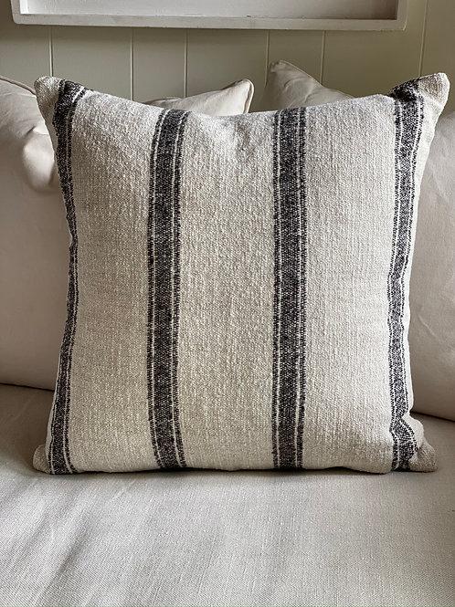 Dalton Pillow Charcoal 23x23