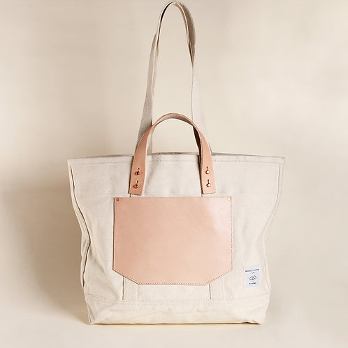 East West Tote- Natural