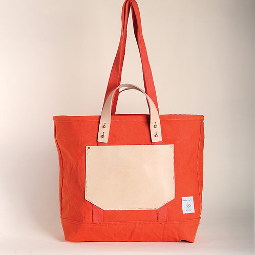 East West Tote-Persimmon