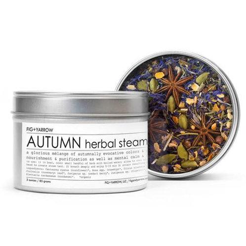 Fig + Yarrow Herbal Steam - Autumn