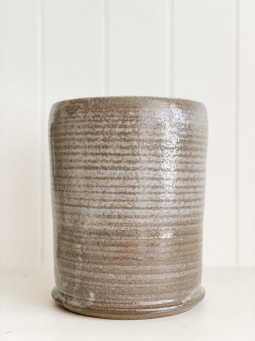 M.S. Ceramic Design Cylinder Vase