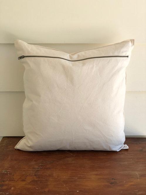 Sturdy Girl Pillow- Porcelain