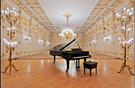 Clavis piano competition and festival stage
