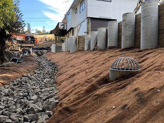 Retaining Wall | Auckland | Digger Collective Contractors