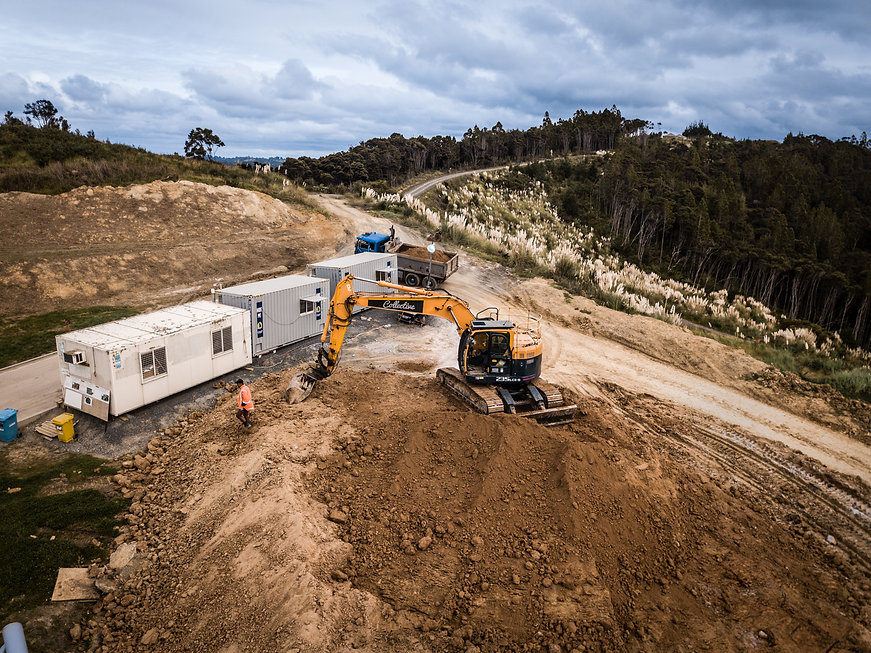 Excavation Earthmoving | Auckland | Digger Collective Contractors