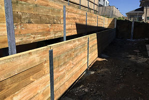 Retaining Structure | Auckland | Digger Collective Contractors