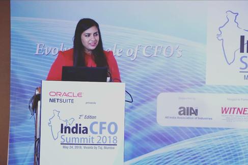 INDIA CFO SUMMIT 2018