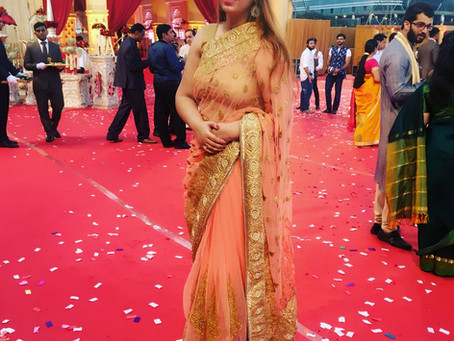 Bhavana anchored a brilliant wedding & reception in MMRDA grounds, BKC with DJ Alex Mumbai