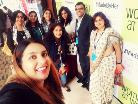 Bhavana hosts the first edition of #madebyher conclave organised by Womanatwork in Westin , Pune