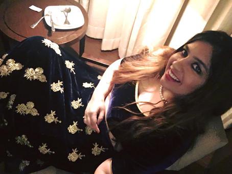 Beautiful like a portrait : Bhavana Bhatia with DJ Alex Mumbai
