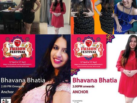 BHAVANA BHATIA HOSTS INDIA'S DIGITAL FESTIVAL