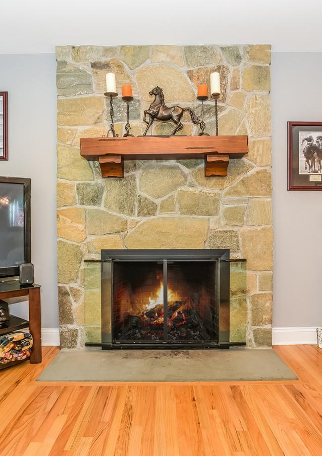 Livingroom Fireplace