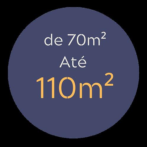 Pacote médio até 110m²