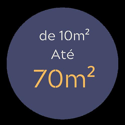 Pacote médio até 70m²