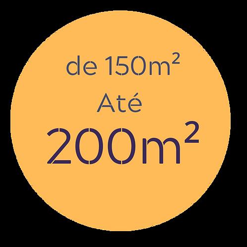 Pacote Completo até 200m²