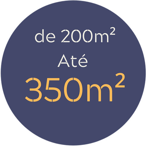 Pacote médio até 350m²