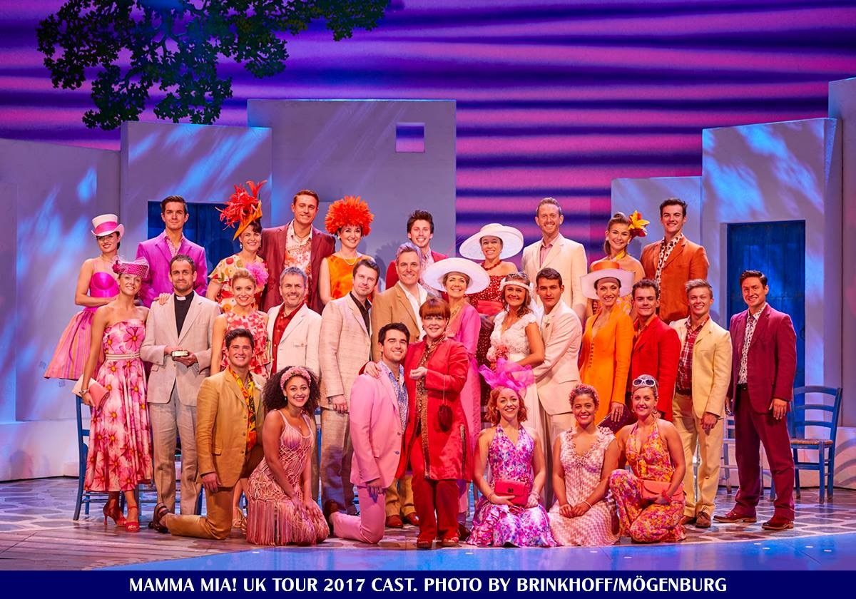 Mamma Mia! UK Tour Cast