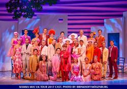 Mamma Mia! UK Tour Cast