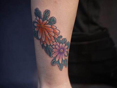 Tattoo para minha prima _deasferraz ❤️ #