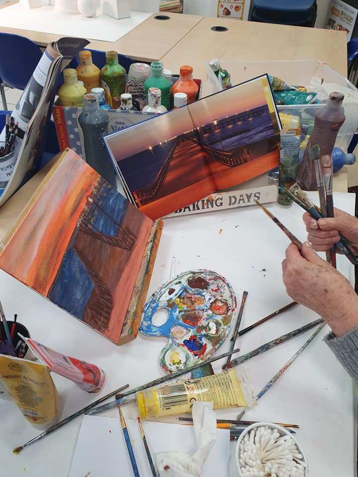 Adults painting courses